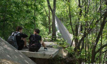 Место для прогулки в Хабаровске: парк Дома офицеров флота