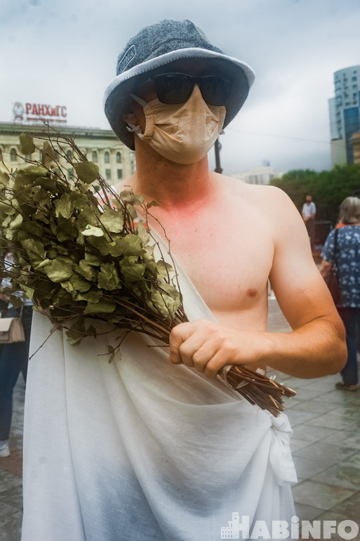 протесты в хабаровске 2020