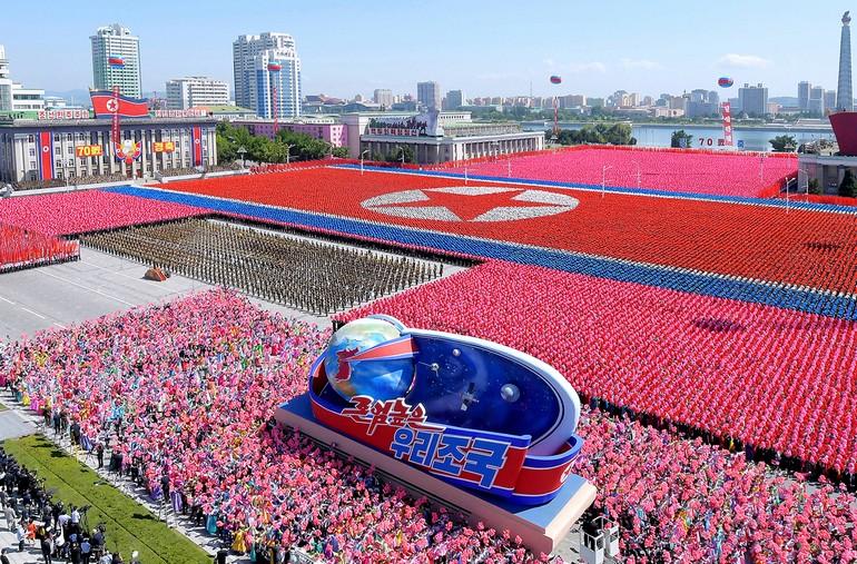 северная корея фото