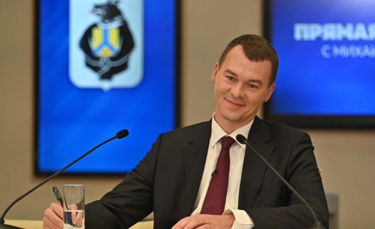 «Не надо играть в пинг-понг»: о чём говорилось в прямом эфире с врио губернатора Хабаровского края