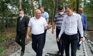 Сергей Кравчук просит строителей поторопиться