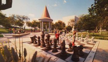 Курилка, Баба Яга и шахматы: Хабаровску добавят «изюминки»