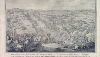 Две гравюры в память Петровских побед в Дальневосточном художественном музее