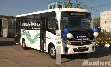 Новые российские автобусы появятся на хабаровских маршрутах