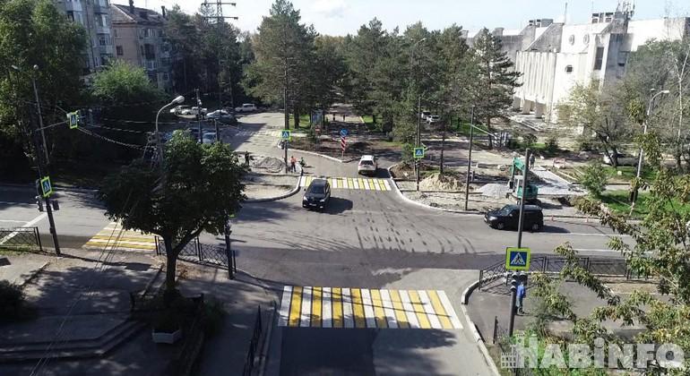 Перекрёстки Хабаровска станут безопаснее