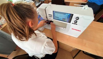 Школа-интернат 2 распаковала инновационное оборудование по проекту «Доброшкола»