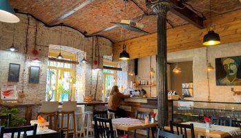 Эксперимент или образ жизни: вегетарианское кафе Mojjeville