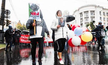 День ходьбы и музыки: пасмурная 13-я суббота протеста в Хабаровске