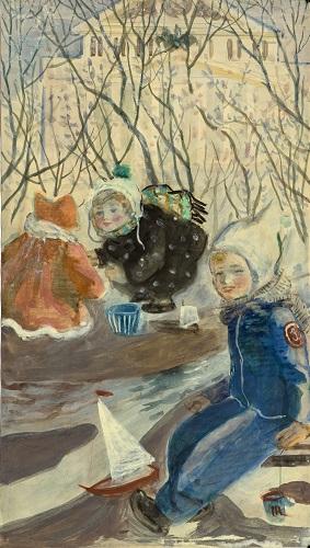 Василий Бордиченко и его картины в коллекции Дальневосточного художественного музея