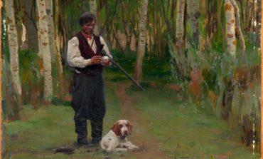 «Охотник в роще» из коллекции Дальневосточного художественного музея
