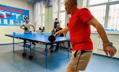 Убойный настольный теннис: ветераны против молодёжи
