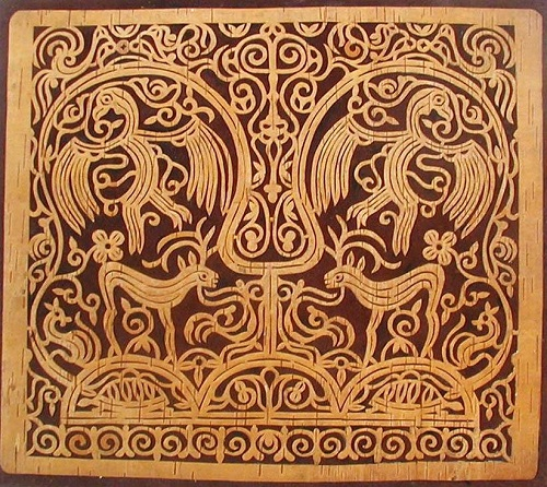 Орнаментальные панно Людмилы Уламовны Пассар в коллекции Дальневосточного художественного музея
