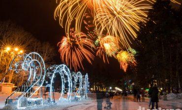 Салют 23 февраля 2021 в Хабаровске: скромнее некуда!