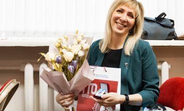Рекордсменок ГТО в Хабаровске наградили памятными знаками