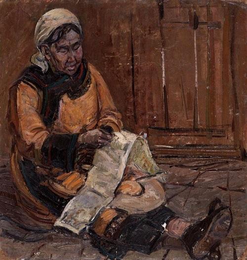 Произведения Майлы Актанки  в коллекции Дальневосточного художественного музея