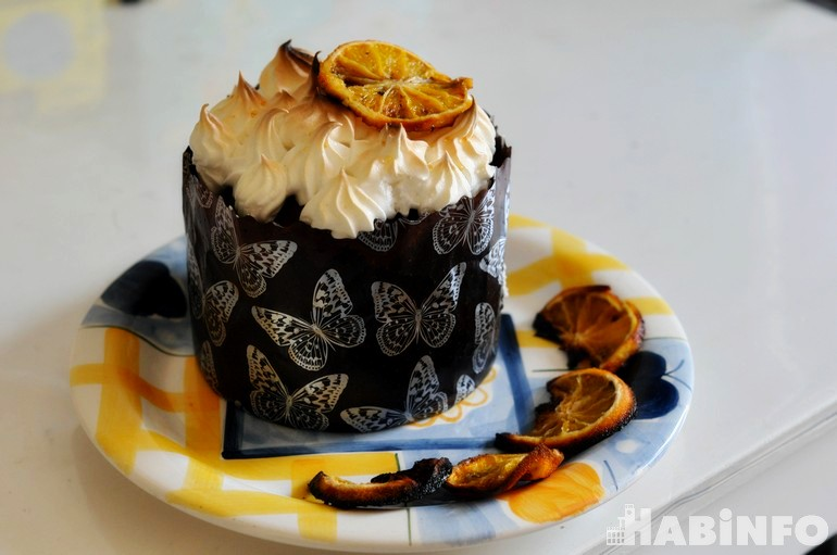 Готовим вкусный кулич с апельсинами на Пасху