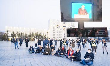 Несанкционированный митинг «Свободу Навальному» в Хабаровске утихомирили выступлением Путина