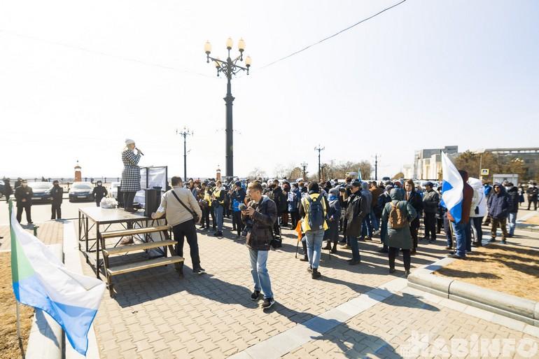 митинг против отставки сидорова хабаровск