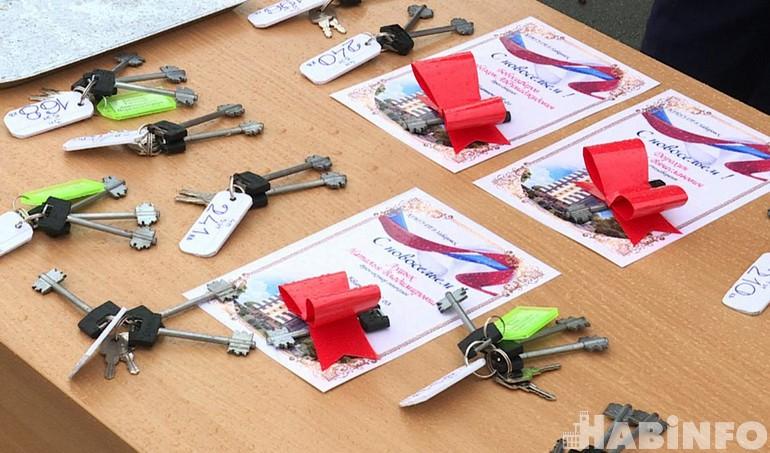 Медработники получили ключи от служебных квартир