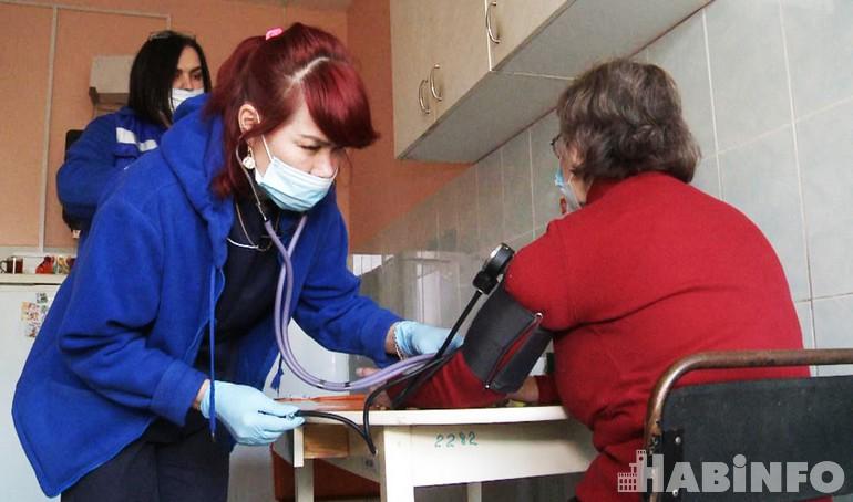 врач скорой помощи хабаровск