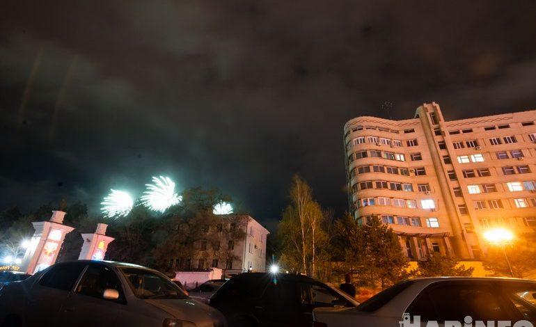 Салют в Хабаровске: сравниваем «ковидный» и «постковидный»