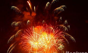 Красота пиротехническая: фейерверк на День города 2021 в Хабаровске