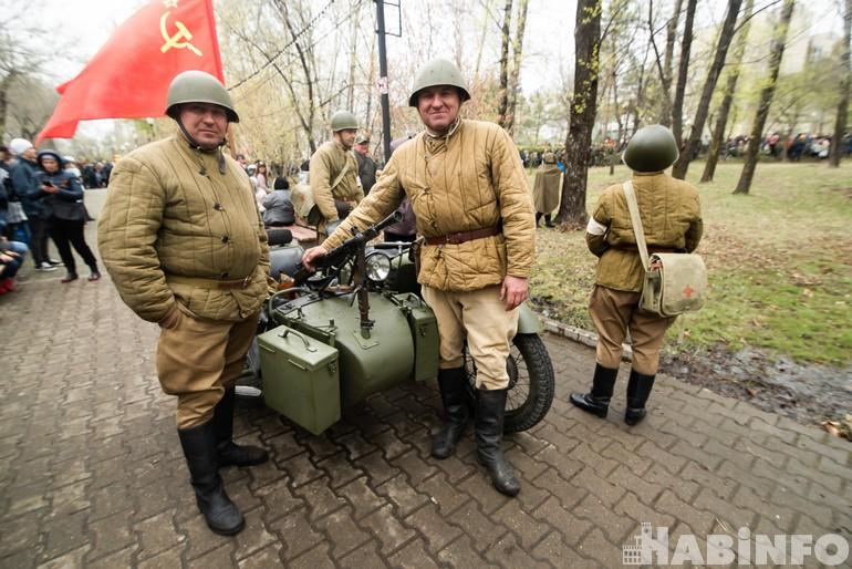 Хабаровские реконструкторы сразились за Берлин