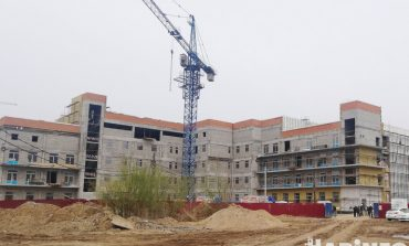 Строительство детской поликлиники на Вахова подорожало во время ковидной пандемии