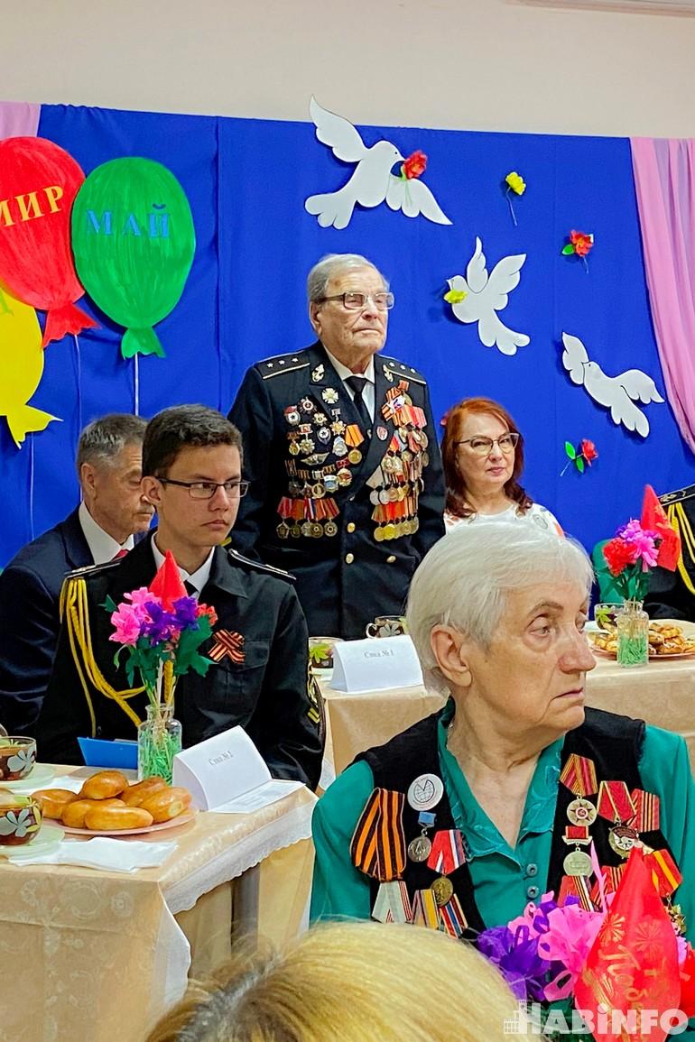 Как самовыразились Адольф и Людмила: чествование ветеранов в Краснофлотском районе
