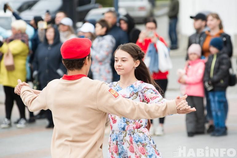 «Победные» патриотические акции вернулись в Хабаровск с рекордами