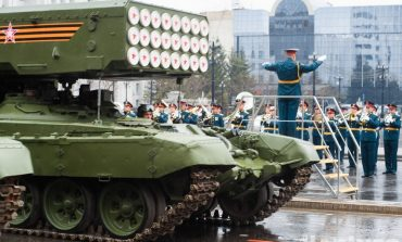 Музыка и танки: парад Победы 2021 в Хабаровске