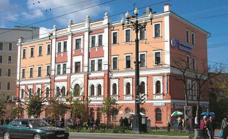 История города в зданиях: канцелярия генерал-губернатора