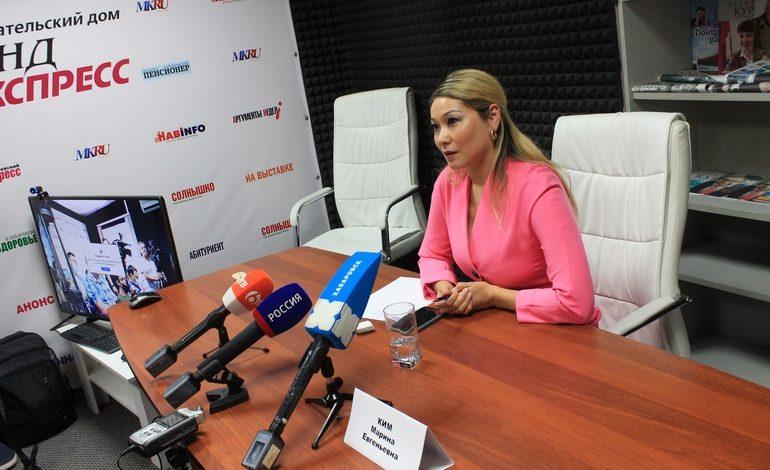 Дуплет или синергия: телеведущая Марина Ким пойдёт и в губернаторы, и в Госдуму