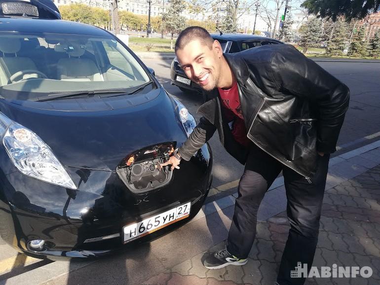 Налог на электромобили в Хабаровске отполовинят