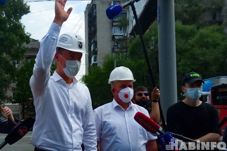 Снос бараков в Хабаровске