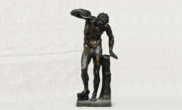 Сатир с кимвалами из собрания Дальневосточного художественного музея