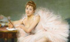 «Сидящая балерина» П. Каррьер-Беллеза из собрания Дальневосточного художественного музея