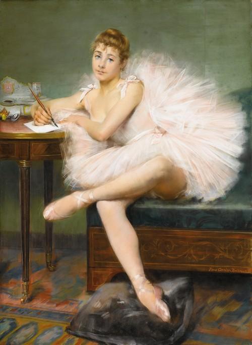 про балерину