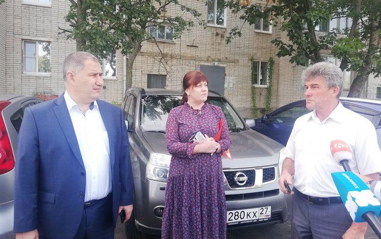 Дворы в пригороде Хабаровска тоже благоустраивают