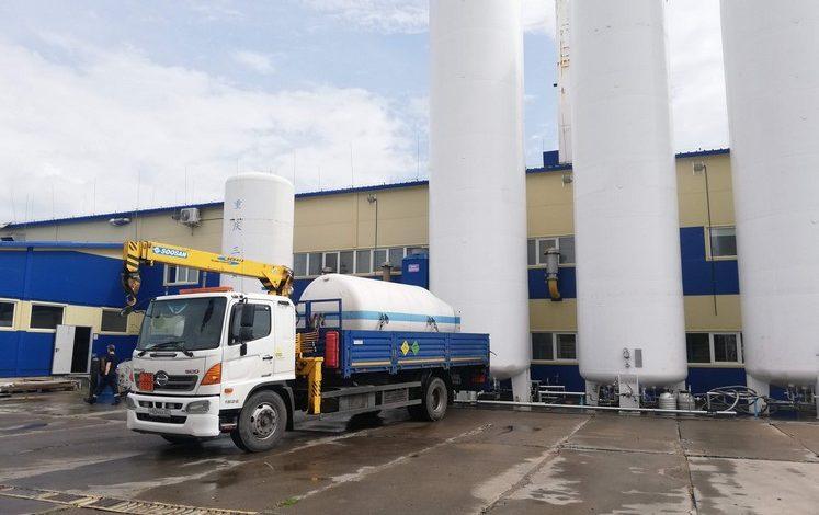Как в Хабаровске производят кислород для больниц