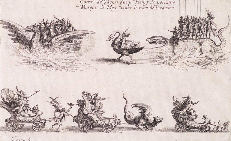 «Битва у барьера» Жака Калло в коллекции ДВХМ