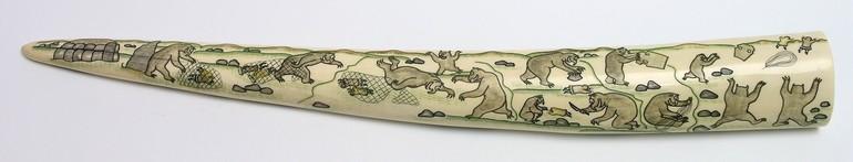 Образ чукотского злого духа Кэле в экспонате Дальневосточного художественного музея
