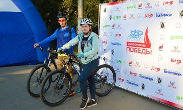 «ЗОЖ и патриотизм для нас важны!» - участники акции «Велоночь Победы» в Хабаровске