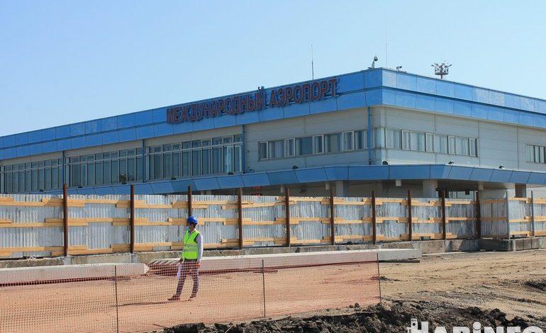 Международный аэровокзал начали строить в Хабаровске