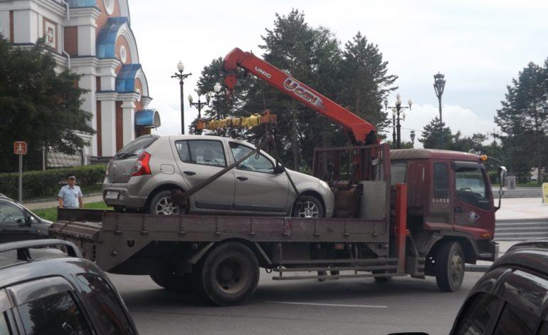Как вернуть машину со штрафстоянки в Хабаровске?