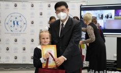 Мир на ладошке: фестиваль дружбы между ребятами из Китая и России