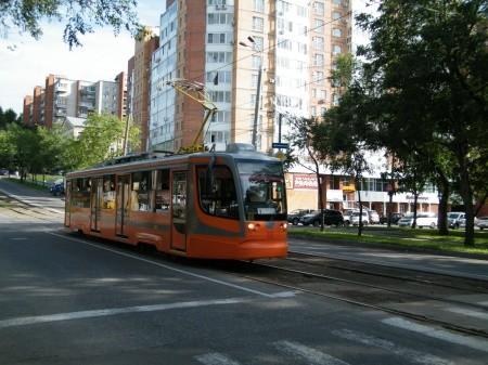 Трамвай №6 в Хабаровске