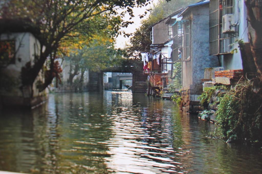 китайский город в воде