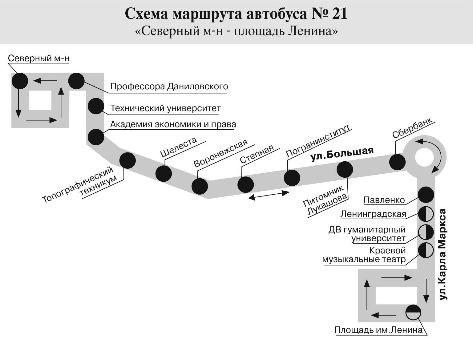 маршрут 21