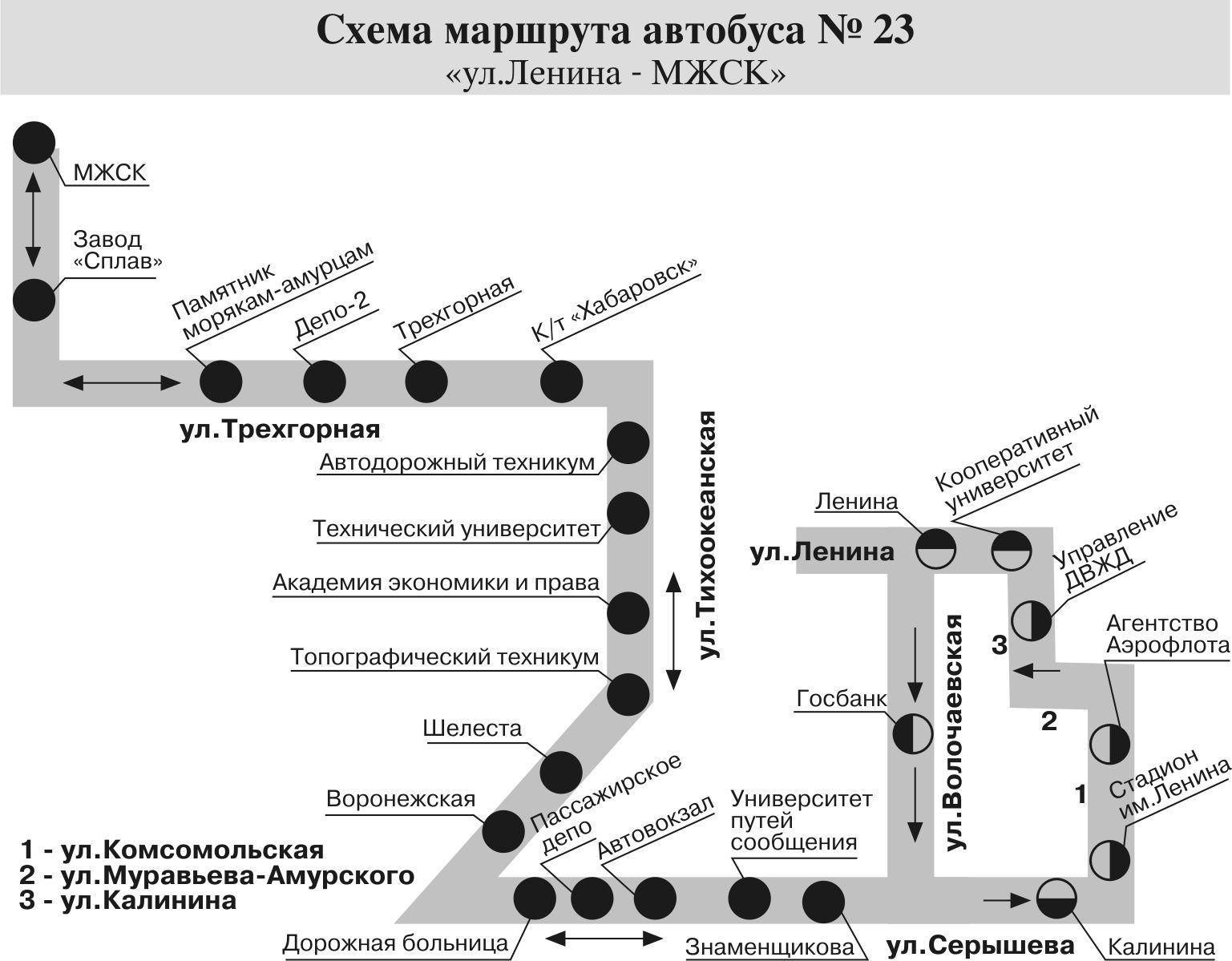маршрут 23
